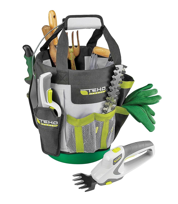 Amazoncom TEHO Garden Organizer Caddy Bucket Garden Tool Sets