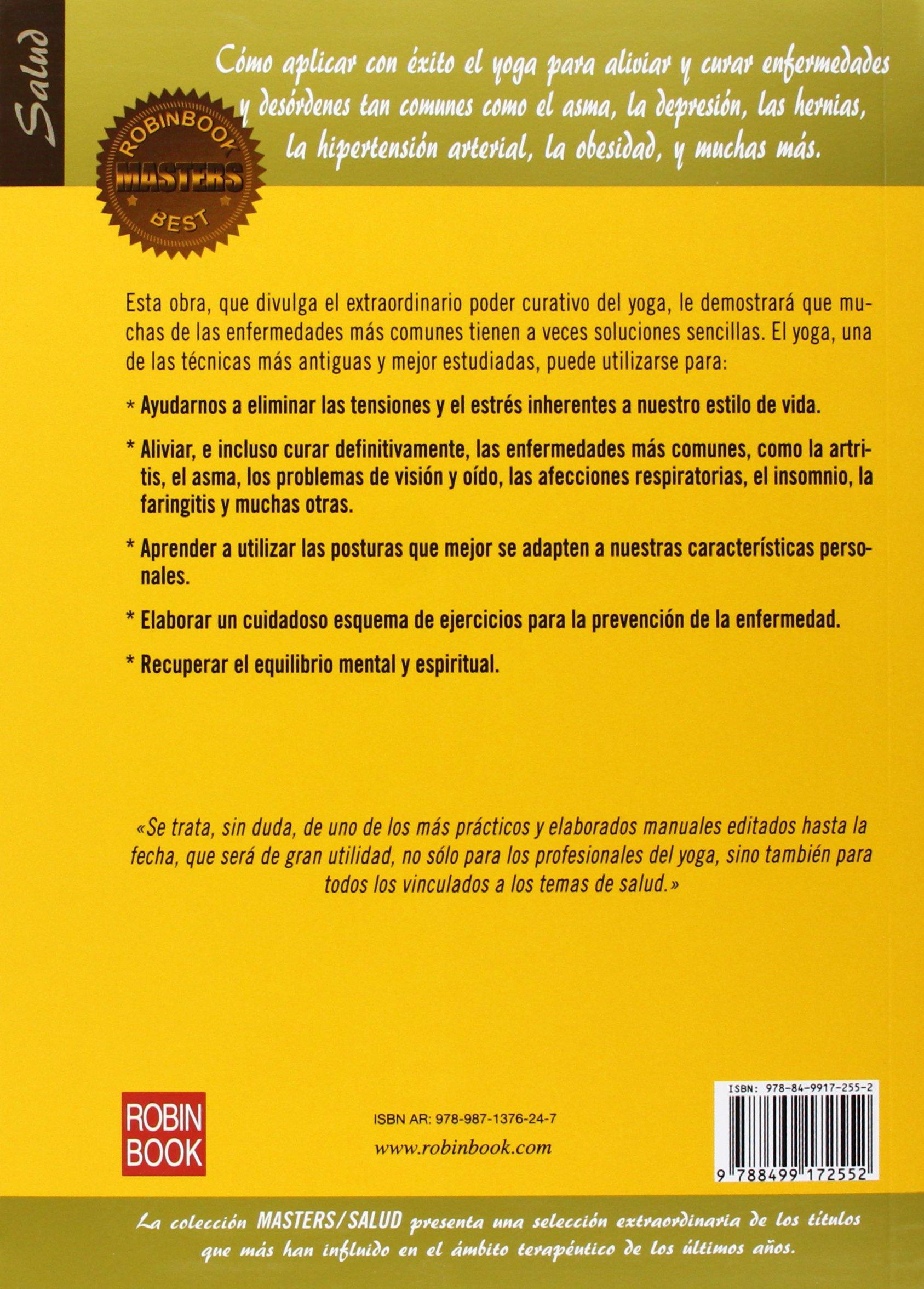 El yoga terapéutico (Masters/Salud) (Spanish Edition ...