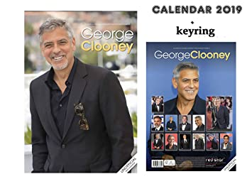 GEORGE CLOONEY CALENDARIO 2019 (A3 POSTER SIZE) + GEORGE ...