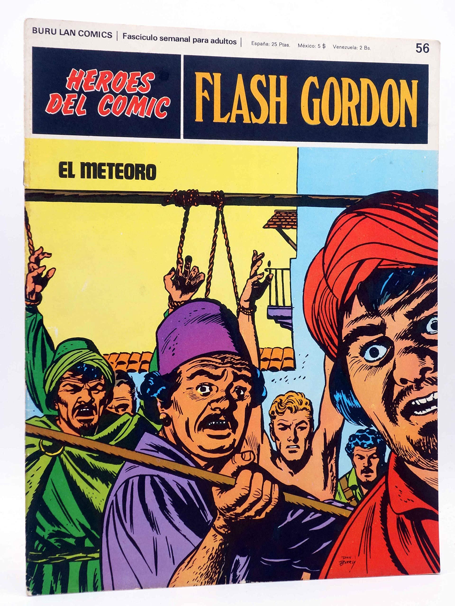 HEROES DEL COMIC. FLASH GORDON 56. El Meteoro. Burulan Buru Lan: Amazon.es: Alex Raymond: Libros