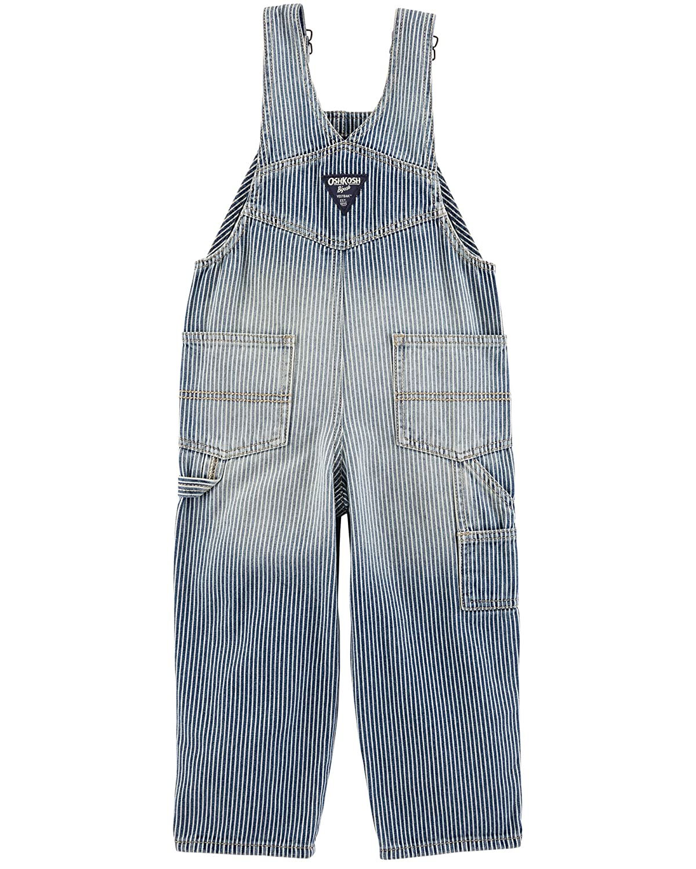 dee126275fc32f Amazon.com: OshKosh B'Gosh Baby Boys' Striped Overalls: Clothing