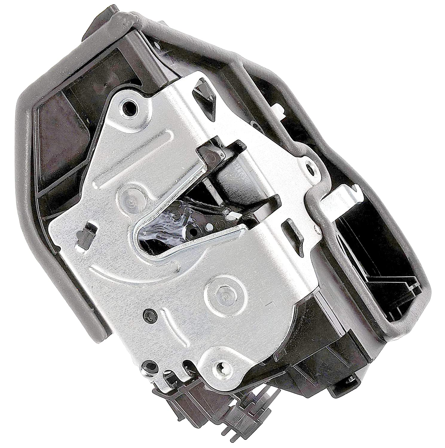APDTY 048911 Power Door Lock Actuator Motor & Latch Assembly Fits Front Left (Driver Side Front) On Numerous 2003-2016 BMW Anti-Theft Models; See Description (Replaces 51-21-7-202-143, 51217202143)