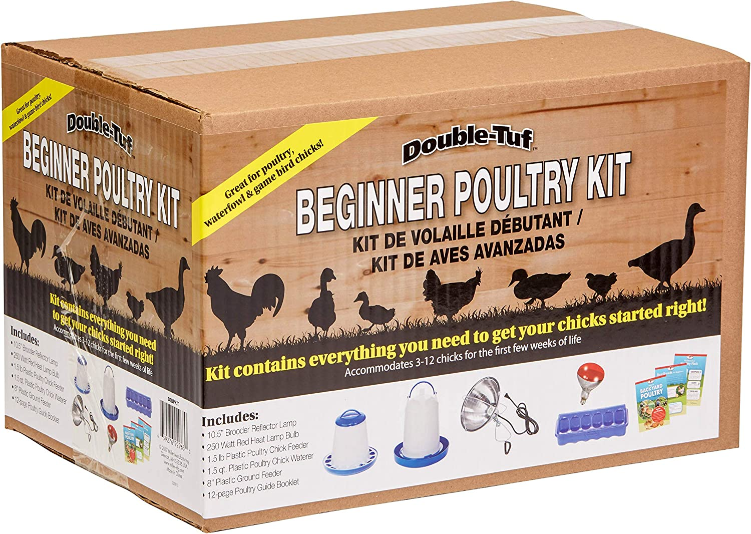 Double-Tuf Chicken and Poultry Starter Kit Beginner Poultry Kit (Books and Accessories) (Item No. DTBPKIT)