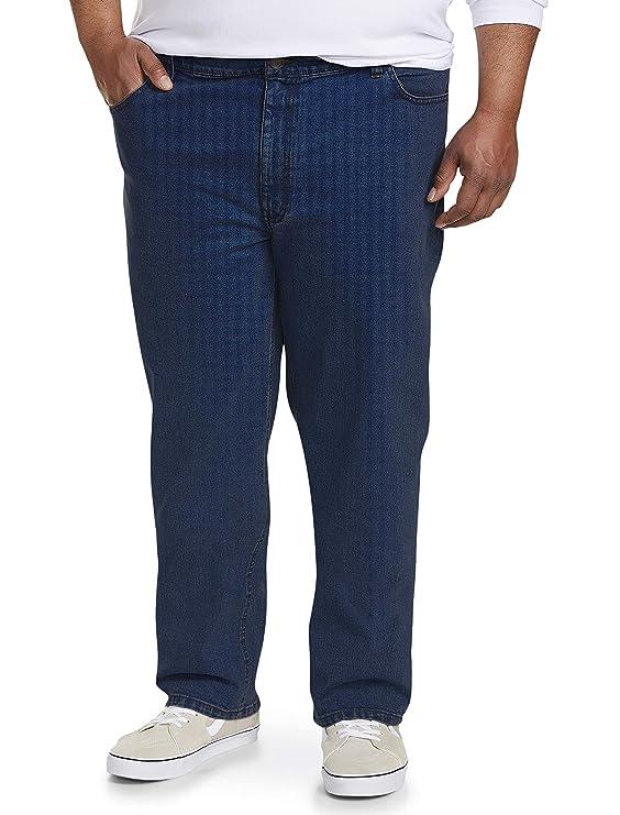 Amazon Essentials Men's Big & Tall Athletic-Fit Stretch Jean, Medium Wash 52W x 28L