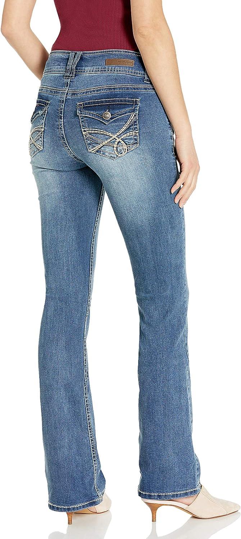WallFlower Womens Instastretch Luscious Curvy Bootcut Jeans