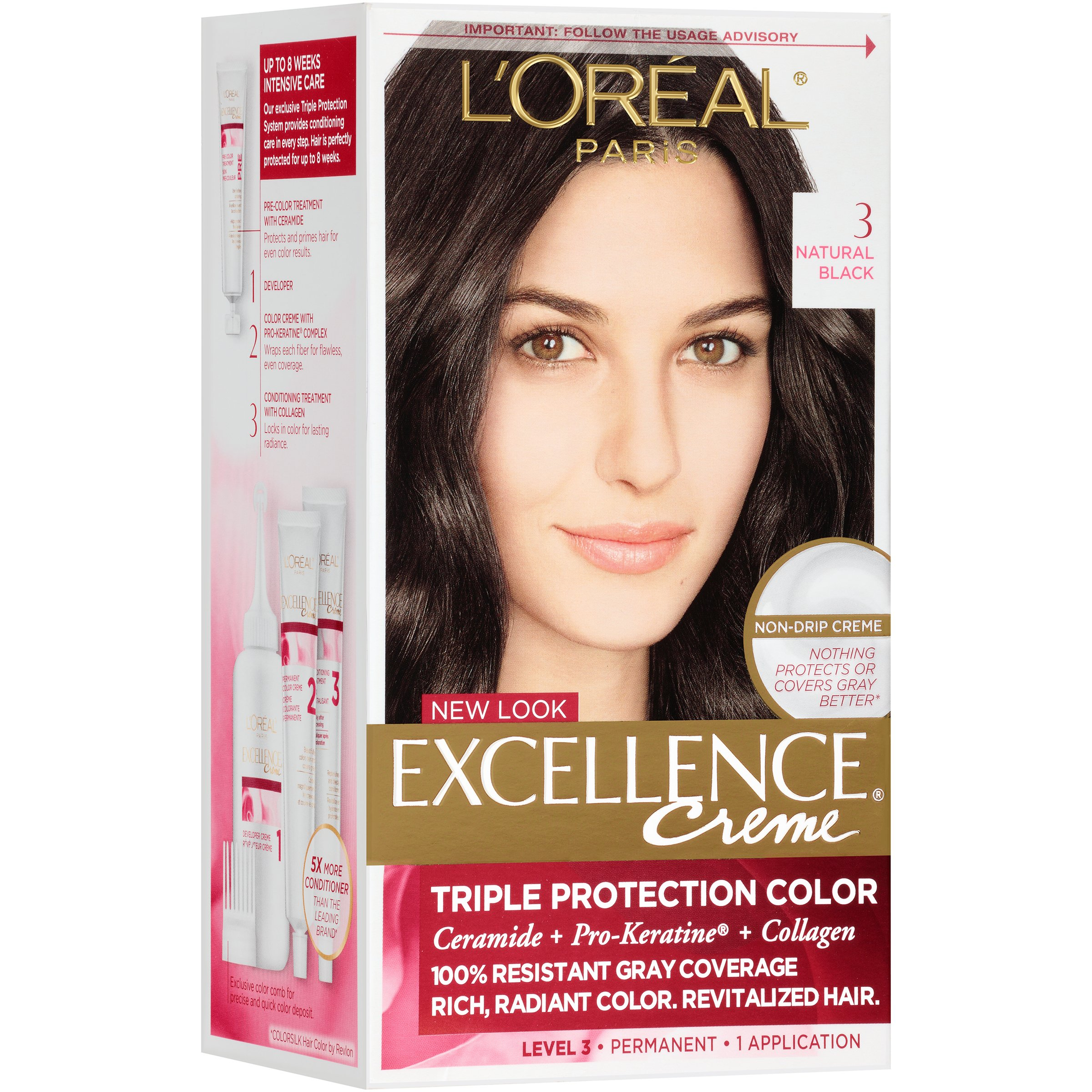 L Oreal Excellence Creme Permanent Hair Color Natural Blonde