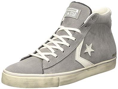 Converse Herren 158934c Hohe Sneaker grau: Amazon.de: Schuhe ...