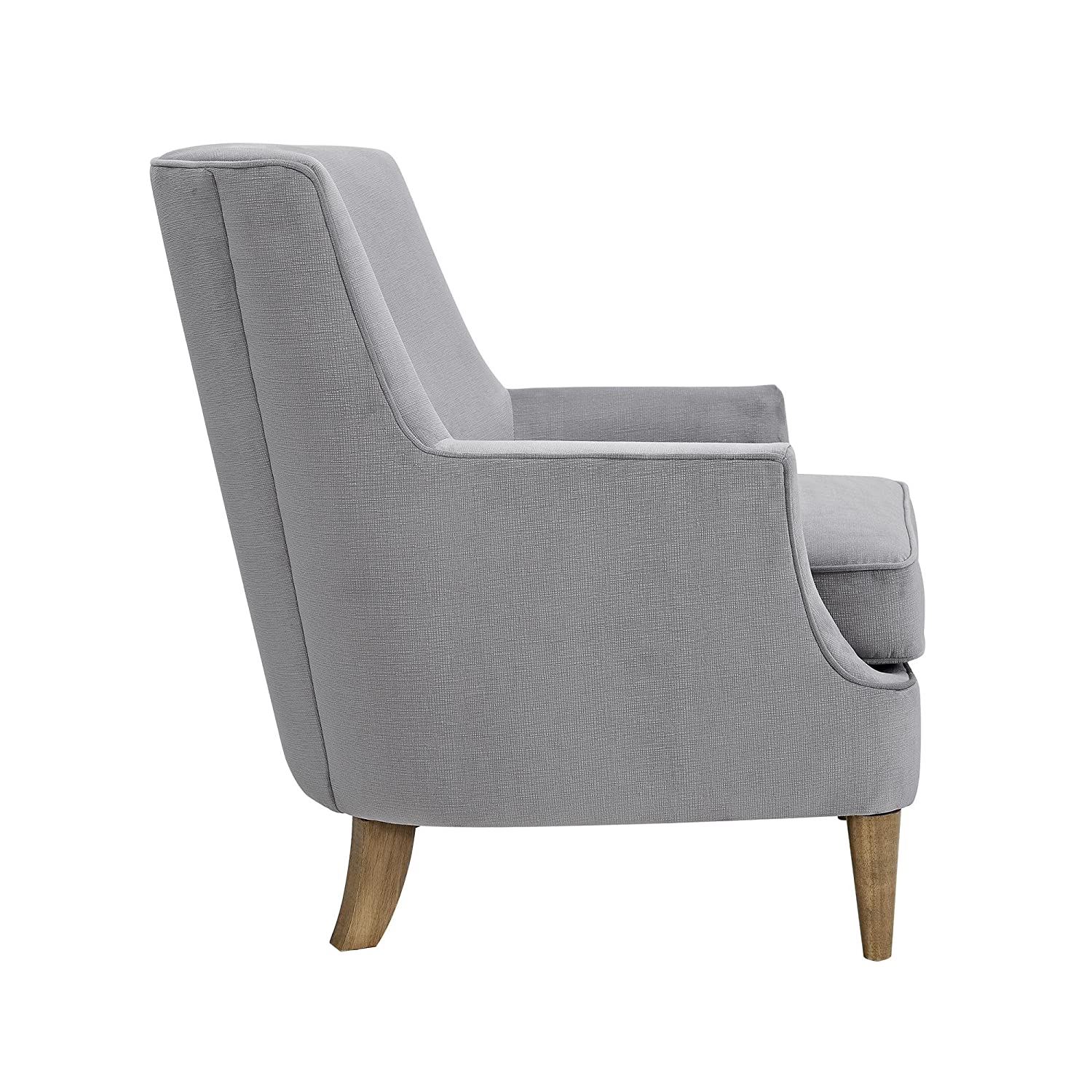 Amazon com dorel living jordie accent chair gray kitchen dining