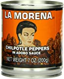 La Morena Chipotle Peppers in Adobo Sauce, 7 Ounce (Pack of 24)