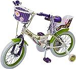Benotto Bicicleta Flower Power Cross Acero R16 1V Niña Frenos V Ruedas Laterales