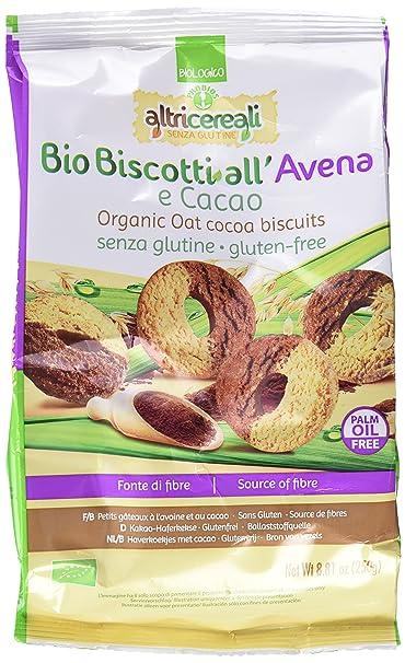 Probios AltriCereali Galletas con Avena y Cacao - Paquete de 10 x 250 gr - Total