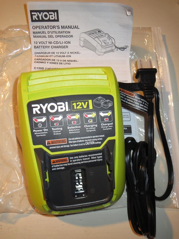 Amazon.com: Ryobi 12 V Auto Kit de Martillo (Incluye Batería ...
