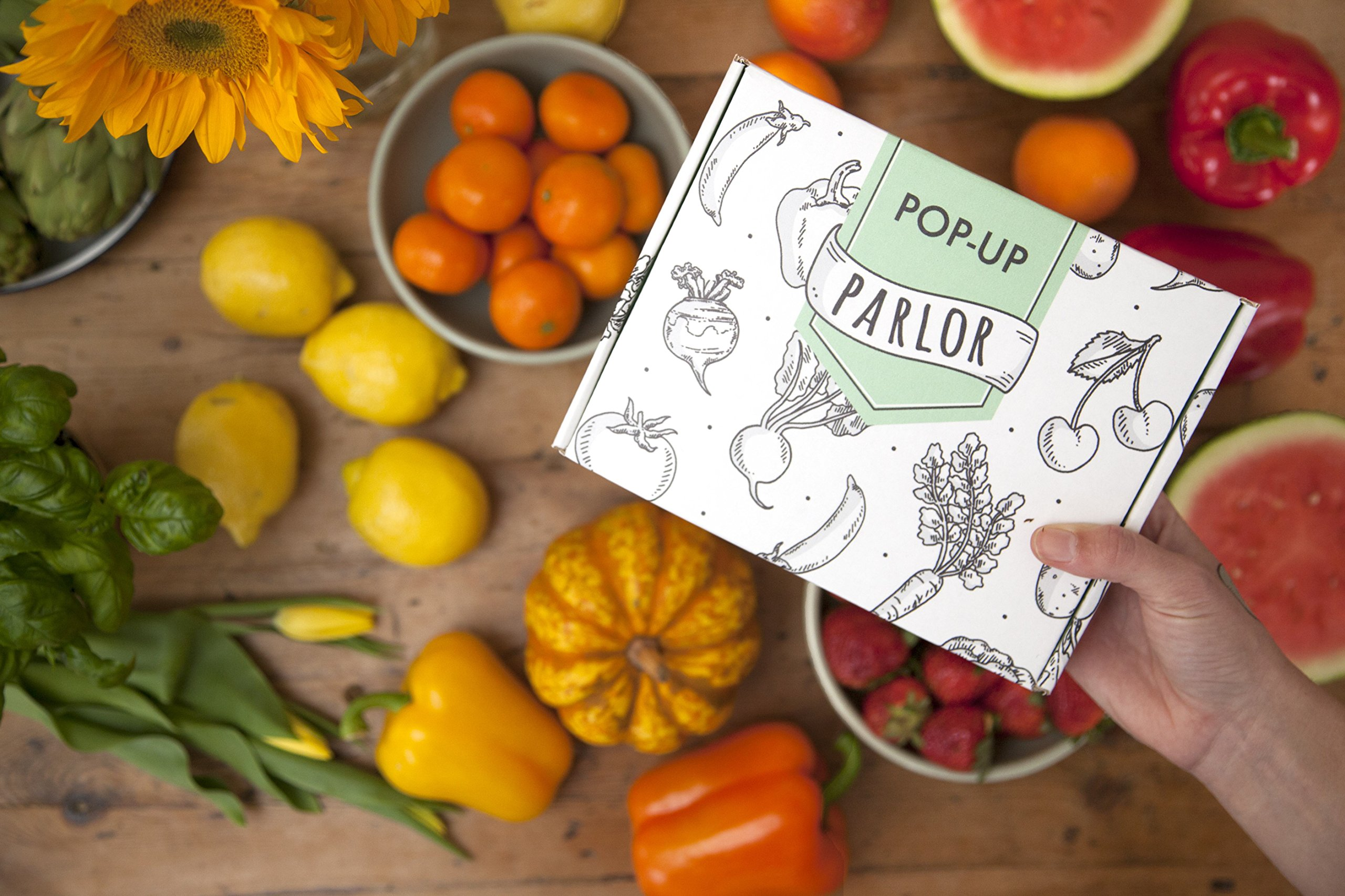 Tater Tats Pop-Up Tattoo Parlor: 225 Temporary Vegetable Tattoos