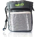 NolongerWild Dog Treat Bag / Pouch - Plenty Of Storage For Treats, Kibble And Toys - 3 Easy Ways To Wear (Waist, Shoulder and Clip) - Built in Poop Bag Dispenser