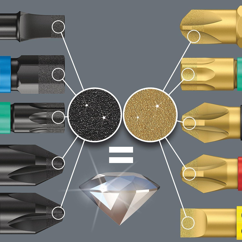 05057116001 Bit-Check 10 Diamond 1 10-teilig Wera Bit-Sortiment
