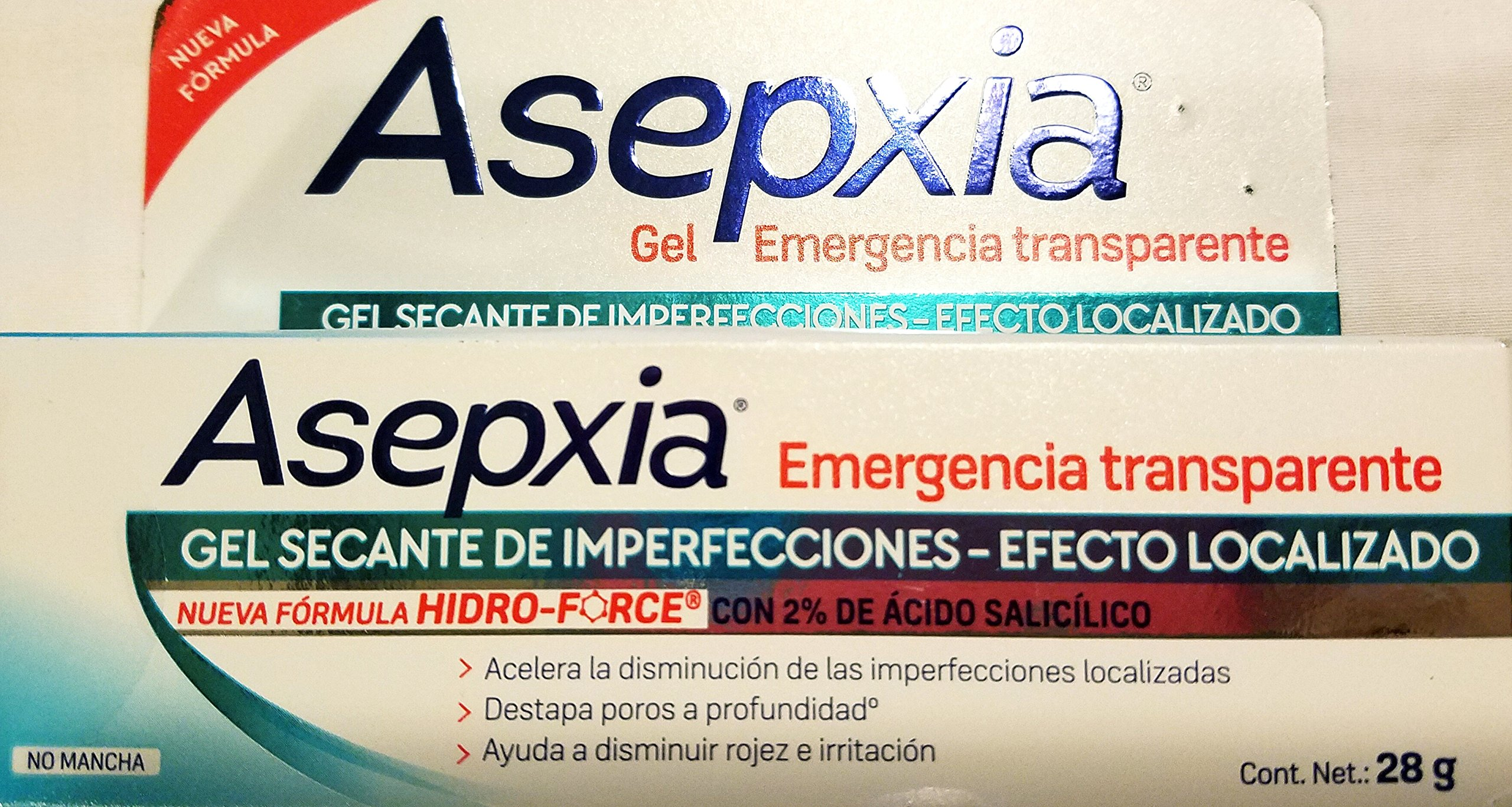 Amazon.com : Asepxia Clear Gel Emergency 24 Hrs Aniacnil Fp for Zit & Acne 28g New : Facial Astringents : Beauty