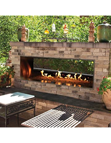 Marvelous Outdoor Fireplaces Amazon Com Download Free Architecture Designs Scobabritishbridgeorg