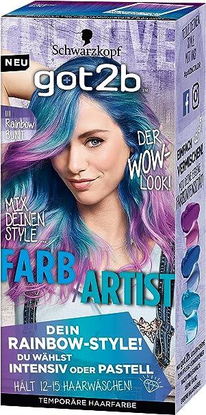 Bunte haarfarben marken