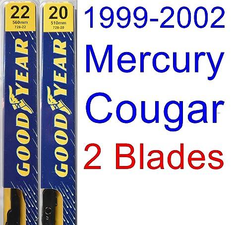 1999 – 2002 mercury cougar repuesto Limpiaparabrisas Set/Kit (Goodyear limpiaparabrisas blades-premium