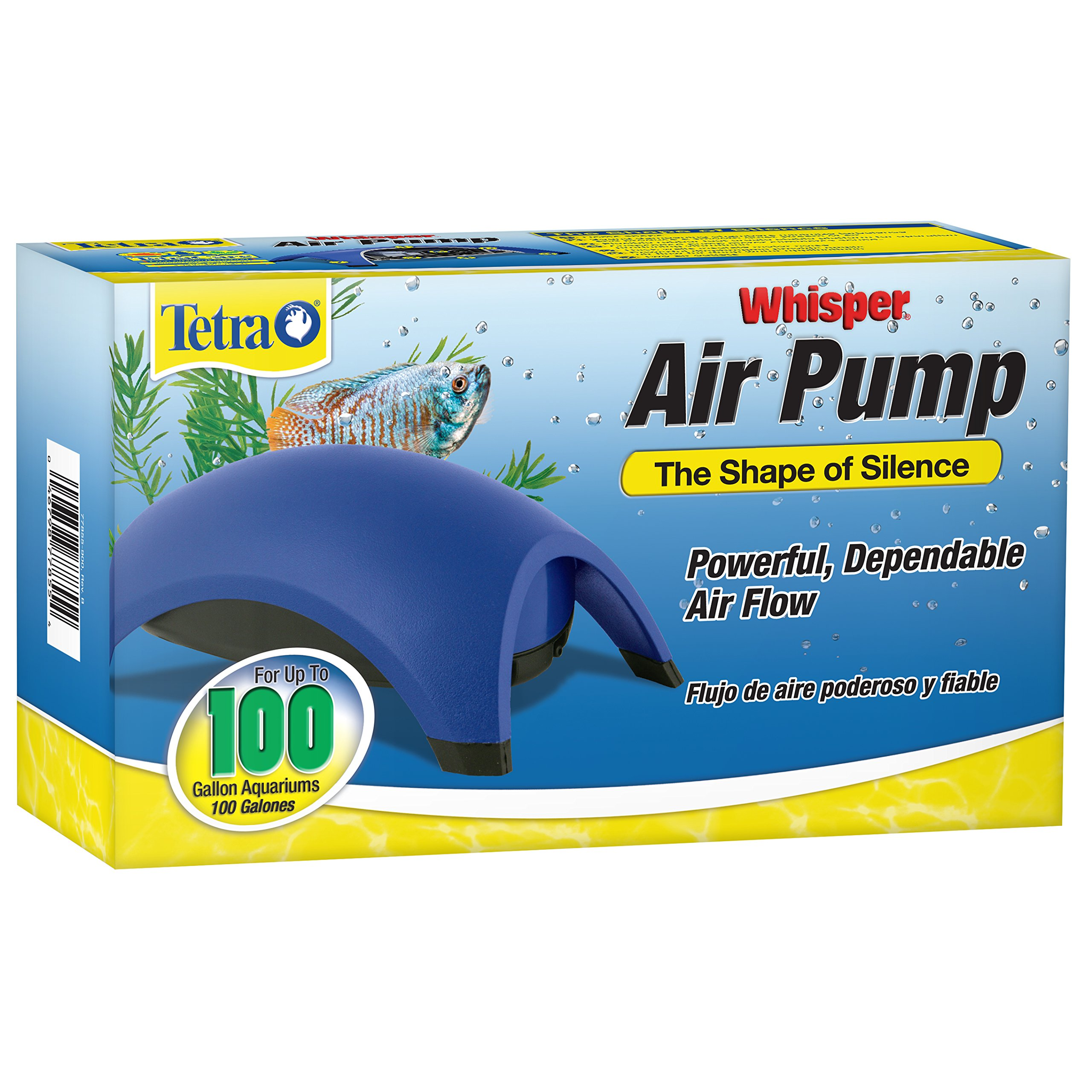 Tetra Whisper Easy to Use Air Pump for Aquariums (Non-UL) by Tetra (Image #1)
