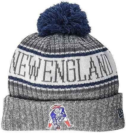 4c1e51329b634d Amazon.com : New Era New England Patriots Classic Historic Throwback  Gray/Graphite Sport Knit NFL 2018 Beanie Unisex Hat Graphite, OSFM : Sports  & Outdoors