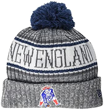 5f4eb2a0146 New Era NFL Sideline Graphite Beanie New England Patriots  Amazon.co.uk   Sports   Outdoors