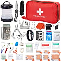 Witlifch 128 in 1 Mini Survival First Aid Kit
