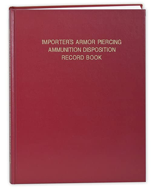 Amazon.com   BookFactory ATF Importer s Armor Piercing Ammunition  Disposition Record Book - 120 Pages 53cc1238ff33