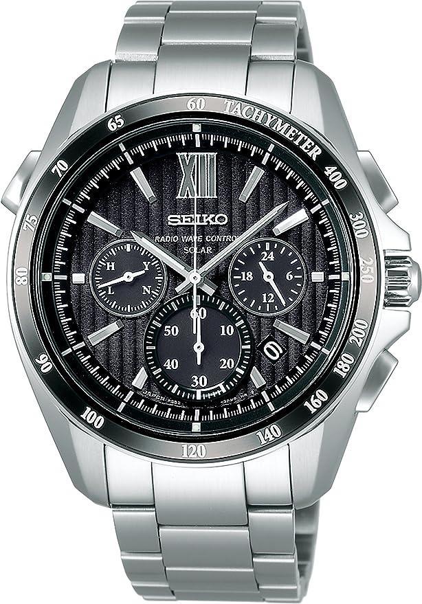 [セイコーウォッチ] 腕時計 ブライツ ソーラー電波修正 サファイアガラス スーパークリア コーティング SAGA153 シルバー