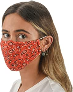 Slumbies! Cloth Face Coverings for Women & Men - Washable Face Coverings - Reusable Face Coverings - Flexible Nose Bridge - Adjustable Ear Bands - 5 Layer Filters Included - Bandana