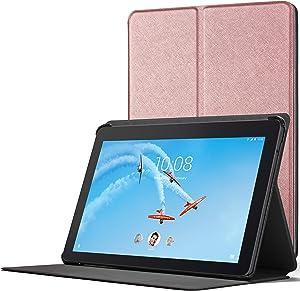 Forefront Cases Cover for Lenovo Tab E10 | Magnetic Protective Case Cover and Stand for Lenovo Tab E10 10.1 Inch | Elegant Slim Lightweight | Rose Gold