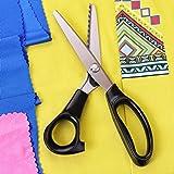 Hui Tong Fabric Pinking Shears Serrated and