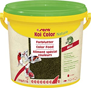 Sera 7053 KOI Color Mini 2.6 lb 3.800 ml Pet Food, One Size