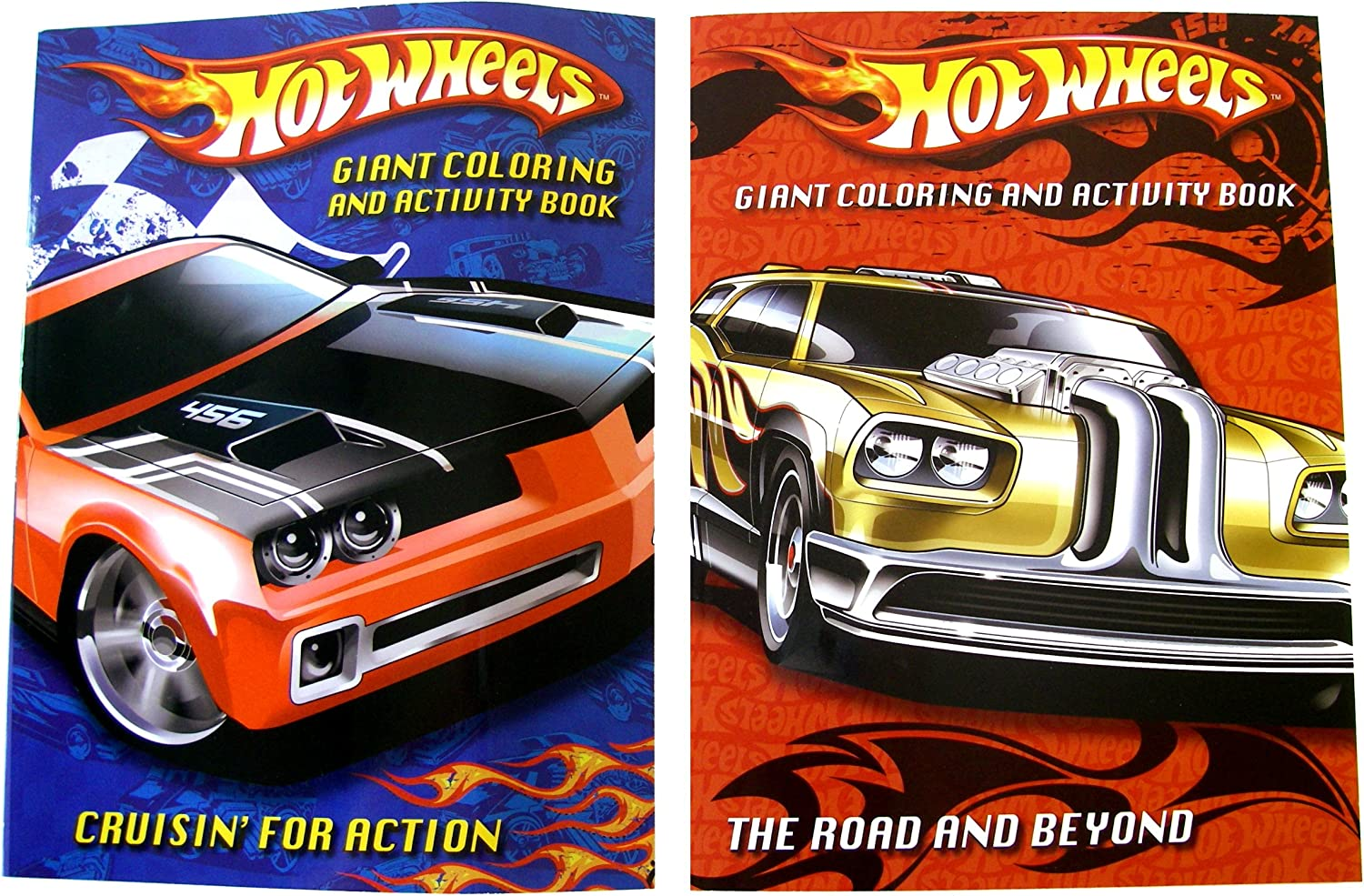 - Amazon.com: Hot Wheels Coloring And Activity Book -The Road And