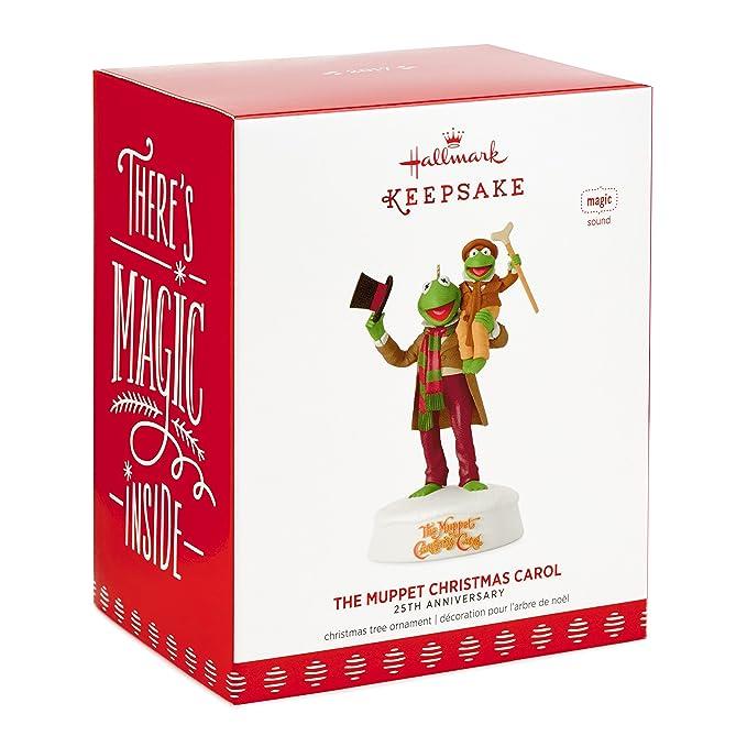 Amazon.com: Hallmark Keepsake 2017 The Muppet Christmas Carol 25th  Anniversary Sound Christmas Ornament: Home & Kitchen - Amazon.com: Hallmark Keepsake 2017 The Muppet Christmas Carol 25th