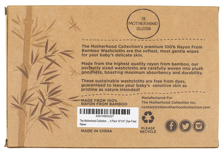 Amazon.com : The Motherhood Collection 6 Pack ULTRA SOFT Baby Bath ...