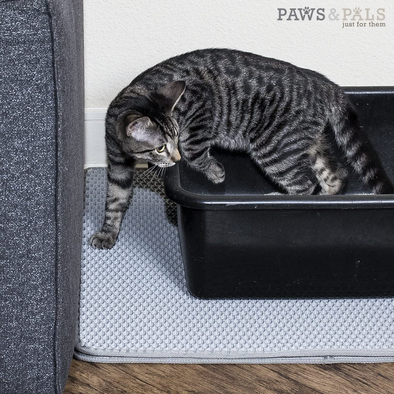 Paws /& Pals Cat Litter Mat 30 x 23 Inch Jumbo Large Size Non Slip Litter Trap Pad Litter Boxes