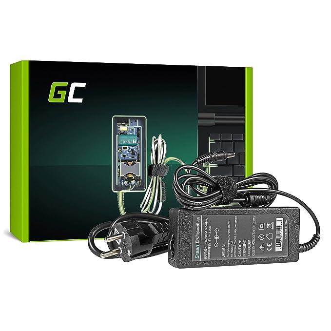 Green Cell® Cargador para Ordenador Portátil Toshiba Satellite C660 C850 C855 L200 L300 L305 L650 L650D L655 L670 L670D L675 L750D / Adaptador de ...