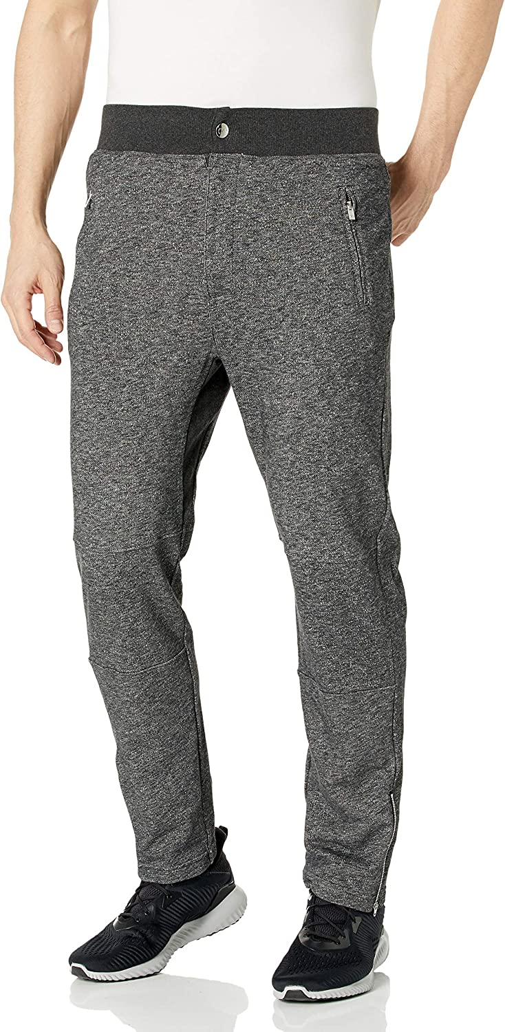 2(x)ist mens Terry Ankle Zip Jogger Sweatpant