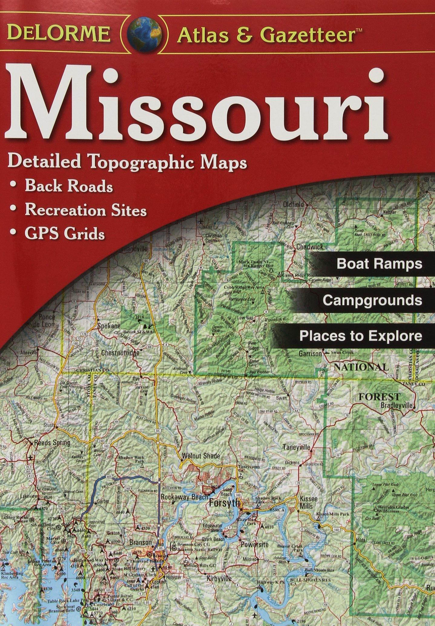 Download Missouri Atlas & Gazetteer (Delorme Atlas & Gazetteer) PDF