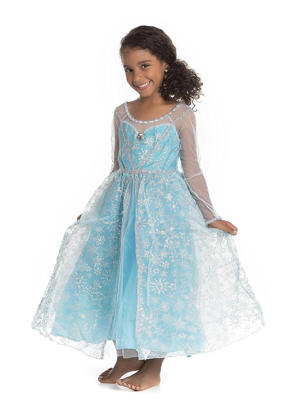 Amazon.com: Frozen Elsa Snow Queen Costume Dress: Clothing