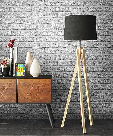Steintapete Grau Rustikal | Schöne Edle Tapete Im Steinmauer Design |  Moderne 3D Optik Für Wohnzimmer