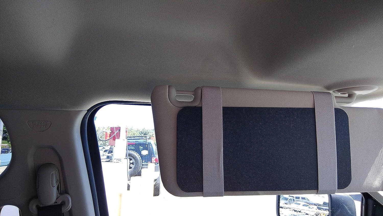 TuckVisor coche ventana de Sun Shade Visor gafas de sol viseras extensor 2/unidades