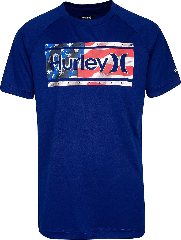 Hurley Boys Rash Guard Shirt
