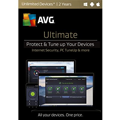 AVG Ultimate 2017 Unlimited 2 Years [Online Code]