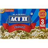 ACT II Microwave Popcorn Natural, 297g