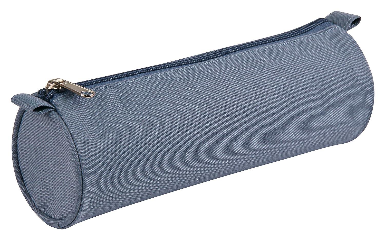 Une Trousse textile ronde Basic 22 cm diam/ère 7 cm Clairefontaine 8468C couleur al/éatoire