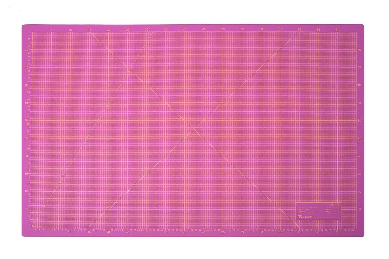 Schneidematte 3-lagig und selbstheilend violett pink 30x45cm A3