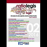 Ratio Legis (Numero 2, Anno 2016)