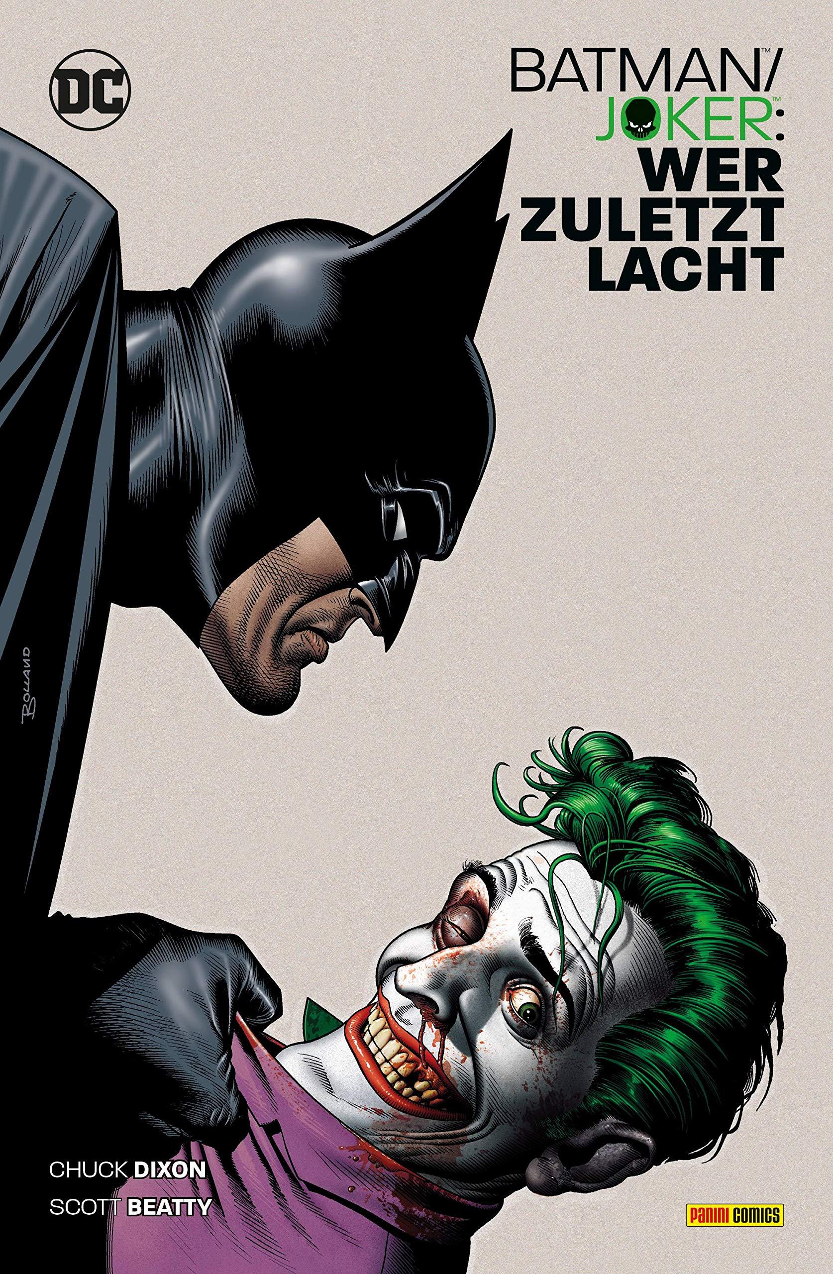 Batman/Joker: Wer zuletzt lacht: Amazon.es: Beatty, Scott ...
